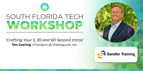 WORKSHOP   'Crafting Your 5, 30 and 60 Second Intros' (Making Luck, Inc. ) tickets