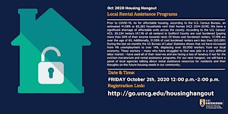 Oct Housing Hangout  Housing Rental Support tickets