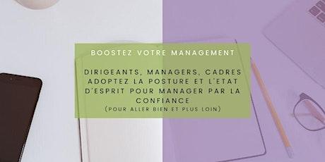 Booster votre management : manager par la confiance billets