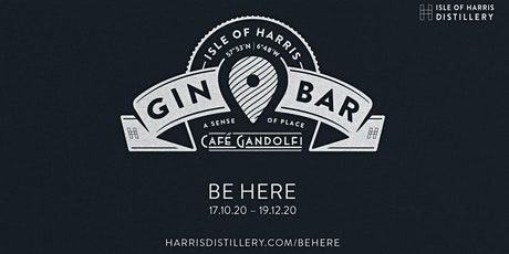Isle of Harris Gin bar at Café Gandolfi tickets