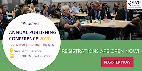 Annual Publishing Conference 2020 - Virtual tickets