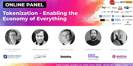 Tokenization – Enabling the Economy of Everything  (Online Panel) tickets