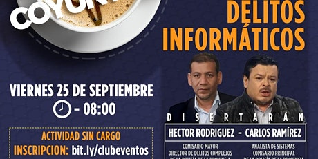 CLUB DE LA LIBERTAD - DESAYUNO  - EL AUGE DE LOS DELITOS INFORMATICOS entradas