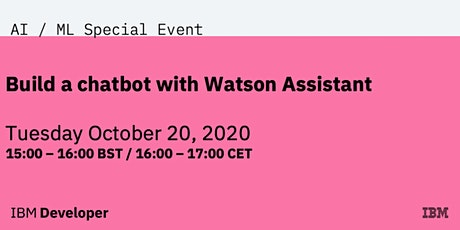 Build a chatbot with Watson Assistant boletos