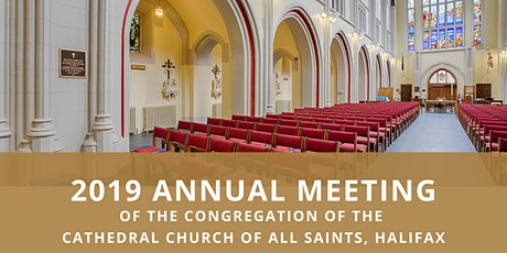 2019 Annual General Meeting In-Person tickets