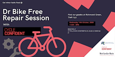 Dr Bike Free Repair Session - Cycle Confident Richmond tickets