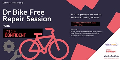 Dr Bike Free Repair Session - Cycle Confident Harrow tickets