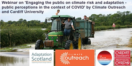 Public perceptions of climate risk & adaptation in the context of COVID tickets