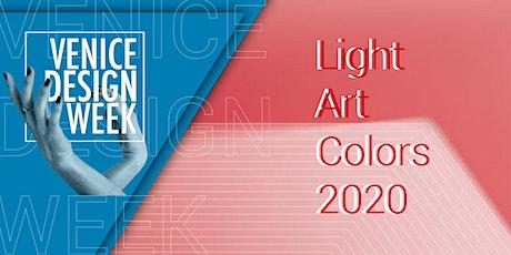 LIGHT ART COLORS - Premiazione biglietti