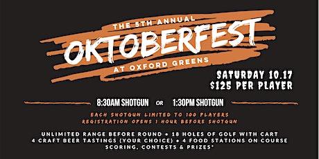 5th Annual OKTOBERFEST GOLF TOURNAMENT tickets