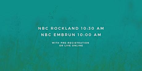 Rockland - Sunday Service 10:30 AM (September 27th, 2020) tickets
