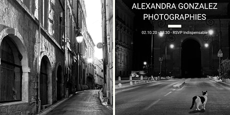 VERNISSAGE ALEXANDRA GONZALEZ PHOTOGRAPHIES billets
