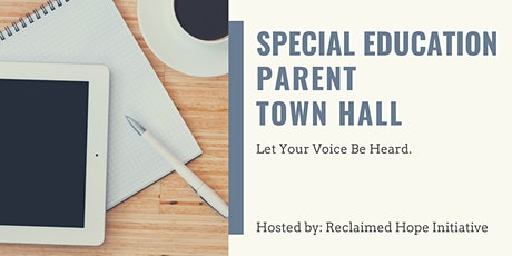 Special Education Parent Town Hall Meetings tickets