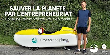 Sauver la planète par l'entrepreneuriat : Un jeune vélomobiliste vous en pa biglietti