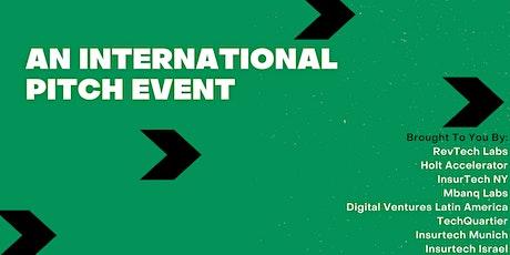 International Fintech & Insurtech Pitch Event tickets