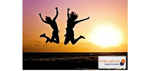 Raising Resilient and Happy Children -  Parents Webinar - 2x1hr course tickets
