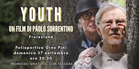 """CINEMA SOTTO LE STELLE // PROIEZIONE """"YOUTH - LA GIOVINEZZA"""" biglietti"""