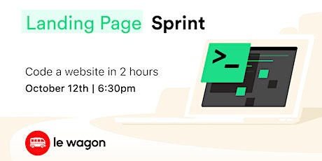 Coding 101: Landing Page Sprint tickets