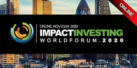Impact Investment ESG Banking Conference 2020 - Virtual Event (Online) Oct billets