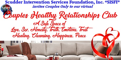 SISFI's Couples Healthy Relationships Club - Romance, Reservations for Two tickets