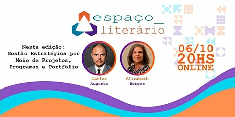 Espaço Literário (Outubro/2020) –  Gestão Estratégica por Meio de Projetos ingressos
