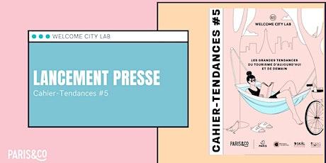 Lancement Cahier-Tendances #5 - YouTube billets