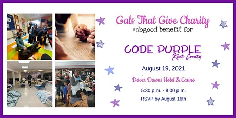 #dogood Benefit for Code Purple Kent County tickets