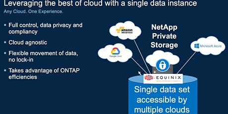 Use Case. How NetApp IT leverages cloud adjacent storage with multi-cloud tickets