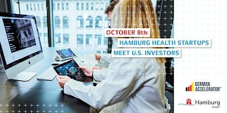 Hamburg Health Startups meet US investors tickets