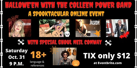 Hallowe'en with the Colleen Power Band tickets