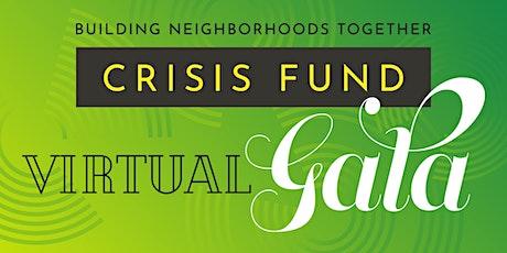Building Neighborhoods Together Crisis Fund Virtual Gala tickets