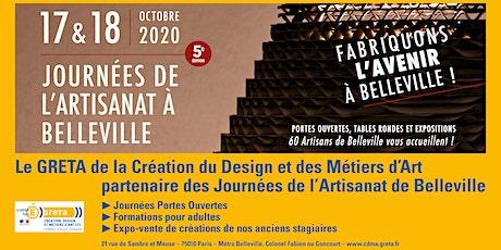 Journées de l'Artisanat de Belleville / Expo-vente de créations billets
