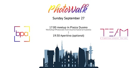 Photowalk & Workshop by BPAxTEAM biglietti