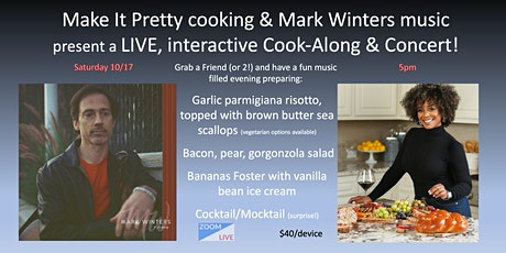 Make It Pretty & Mark Winters Music: Couples Cooking and Concert tickets