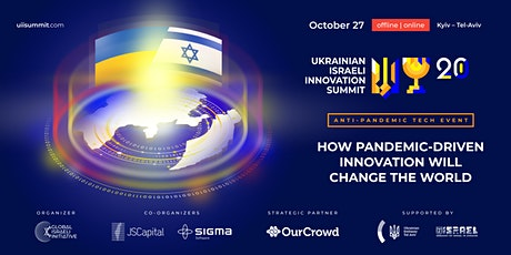 Ukrainian Israeli Innovation Summit 2020 tickets