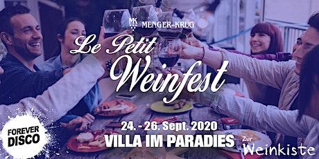 Le Petit Hof Weinfest @Weingut Menger-Krug Tickets