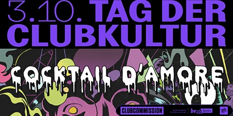 TAG DER CLUBKULTUR - COCKTAIL D'AMORE Tickets