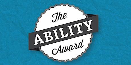 The Ability Award tickets