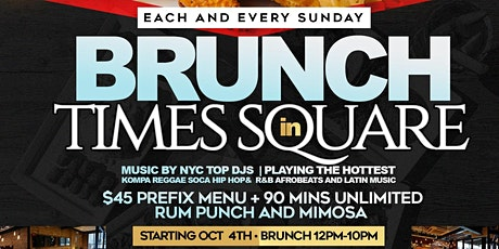 CARIBBEAN BRUNCH SATURDAYS & SUNDAYS AT SOHO PARK #TEAMINNO tickets