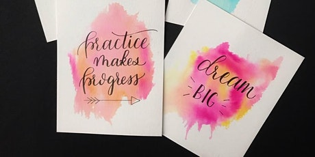 Hand Lettering for Beginners tickets