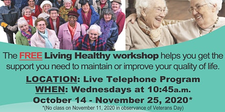 Free Living Healthy Workshop: Live Webinar (Telephone or Computer) tickets