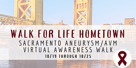 Sacramento Aneurysm/AVM Virtual Awareness Walk tickets