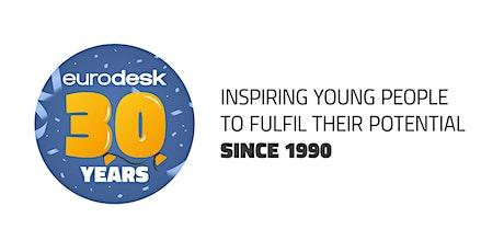 Celebrating 30 years of Eurodesk tickets