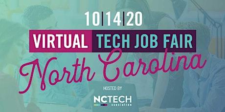 NC TECH Virtual Job Fair tickets
