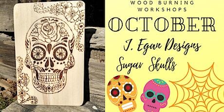 Sugar Skull Wood Burning Workshop tickets