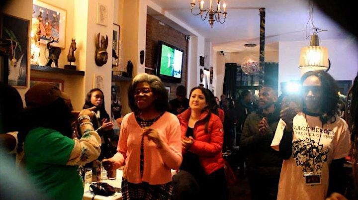 Rudolph Walker CBE of Eastenders visits Black Heroes Virtual Soul Food Cafe image