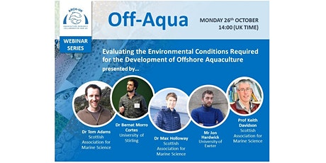 ARCH-UK Webinar Series: The Offshore Aquaculture Project tickets