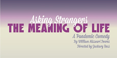 Asking Strangers the Meaning of Life tickets