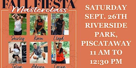 Zumba Fall Fiesta Masterclass tickets