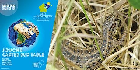Les reptiles de chez nous billets